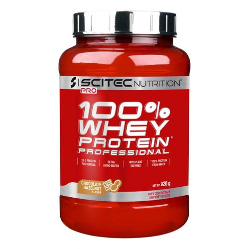 Proteínas 100% WHEY PROTEIN PROFESSIONAL Scitec Nutrition - Fitnessboutique