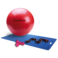 Bola medicinal - Gym Ball Sveltus Pack Easy Fitness