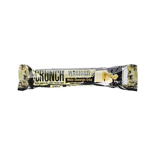 Proteínas CRUNCH HIGH PROTEIN LOW SUGAR BAR Warrior - Fitnessboutique