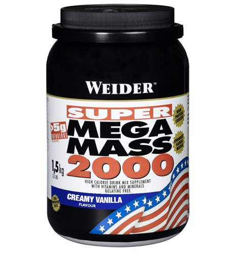 Weidernutrition Super Mega Mass 2000