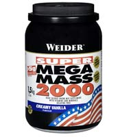 Gainer - aumento de massa Weidernutrition Super Mega Mass 2000