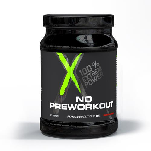 pré workout XNative NO PREWORKOUT