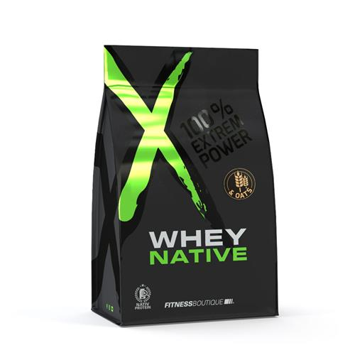 Proteínas WHEY & OATS XNative - Fitnessboutique