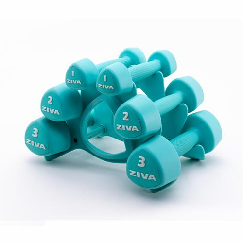 halteres STUDIO TRIBELL DUMBELL SET Ziva - Fitnessboutique