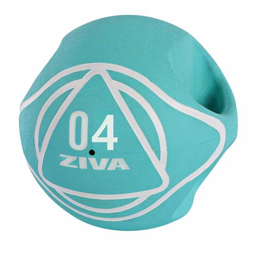 Bola medicinal - Gym Ball Ziva DUAL GRIP MEDICINE BALL